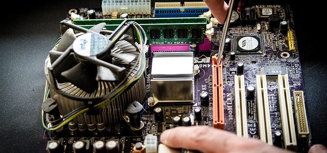 Montage d'un ordinateur